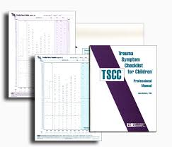 tscc introductory kit trauma symptom checklist for children 3272