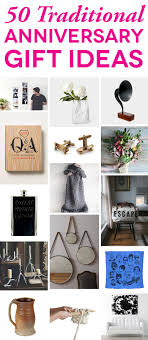 gift ideas for traditional anniversary gifts by year a practical wedding