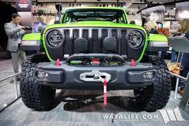 jl jeep release date 2017 la auto show mojito green jeep jl wrangler rubicon unlimited