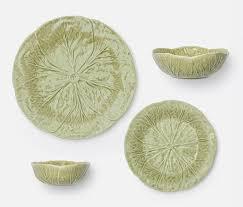 soft green dinnerware irwin ribera
