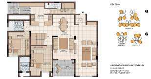 house floor plans 4 bedrooms fascinating 4 bedroom duplex house plans images best idea home