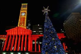 Solar Powered Christmas Tree Lights by Solar Powered Christmas Tree Lights Up Brisbane Photos And Images