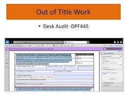 Desk Audit 2014 Shop Steward Training U0026 Leadership Conference St Ppt Download
