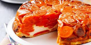 cuisiner les carottes tarte tatin aux carottes recettes femme actuelle