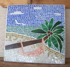 popular items for coastal home decor on etsy stained glass mosaic