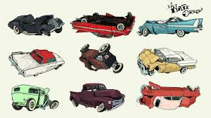 wrecked car clipart rod art by nate greco at coroflot com