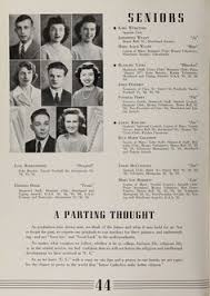 perry high school yearbook from the 1945 central catholic high school yearbook the echo