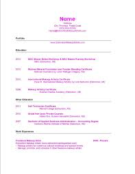 how to make new resume how to make a makeup artist resume resume for study