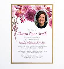 funeral invitation memorial announcement cards funeral announcement cards 10 best