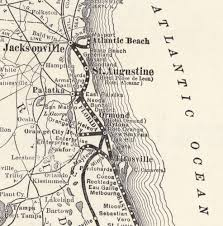 Amelia Island Florida Map by Spanish Land Grants The Florida Memory Blog