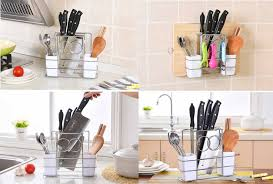 kitchen daily deals group buying discounts in sg deals singapore nicedeal home decor deal bx kitchen knife and chopping board rack space saving