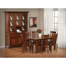 qw amish jacob martin 7pc dining set u2013 quality woods furniture