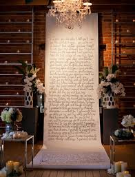 wedding backdrop altar three ways to display your vows