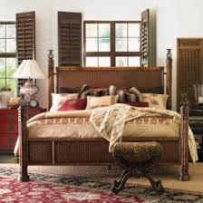 Henry Link Wicker Bedroom Furniture Henry Link Trading Co California King Somer S Isle Rattan Bed