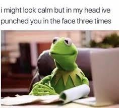 Kermit Meme My Face When - kermit memes home facebook