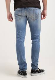 men jeans love moschino slim fit jeans light blue denim love