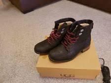 womens ugg denhali boots ugg australia s lace up boots ebay