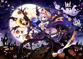 halloween background purple anime halloween wallpaper 2500x1813 id 59620 wallpapervortex com