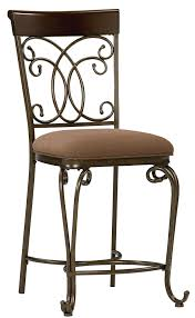 standard furniture bombay upholstered counter height chair with