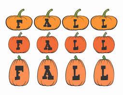 printable digital download diy fall art monogram pumpkin fall