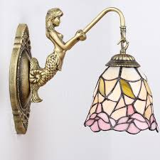 style at home with margie tiffany ls tiffany type mini wall sconces with stained glass shade