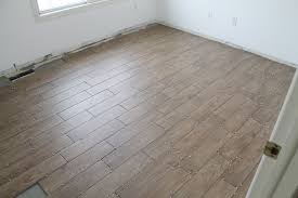 tips for achieving faux wood tile chris