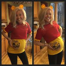 pregnancy costume winnie the pooh costume