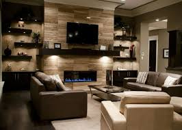 Endearing  Living Room Decor Fireplace Design Decoration Of - Living room designs with fireplace
