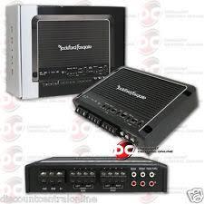 rockford fosgate 4 channel car audio amplifiers ebay