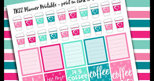 coffee planner stickers printable rebeccab designs free printable planner stickers coffee