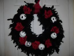 nightmare before christmas wreath edit updated pic u0027s with