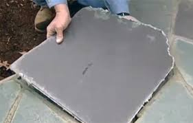 How To Regrout Patio Slabs How To Repair A Flagstone Walkway This Old House