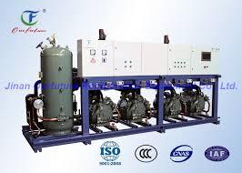 compresseur chambre froide support parallèle de compresseur de réfrigération de carlyle pour la