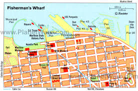 cable car san francisco map 17 top tourist attractions in san francisco planetware