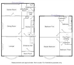 Semi Detached Floor Plans by 3 Bedroom Semi Detached House For Sale Cross Lane Middlewich