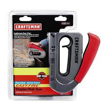 christmas light staple gun craftsman easy fire stapler nail gun amazon com