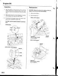 oil level honda civic 2000 6 g workshop manual
