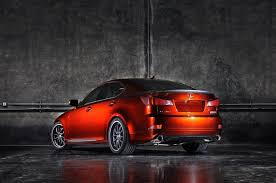 red lexus 2008 2008 sema show lexus is250 350 with f sport accessories