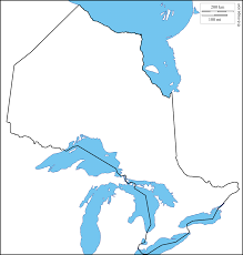 Blank Map Of Canada by Ontario Free Map Free Blank Map Free Outline Map Free Base Map