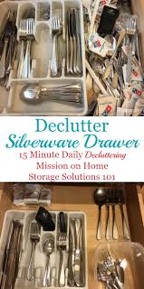 how to organize kitchen utensil drawer how to declutter organize silverware drawer
