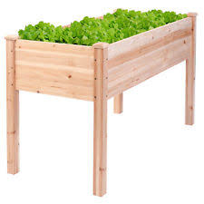 wood rectangular garden planters boxes ebay