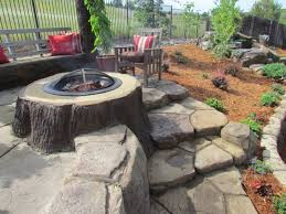 Garden Firepits Outdoor Pit Fireplace Design Build Professional Install