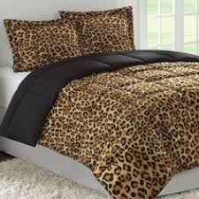 Leopard Bed Set Tiger Stripe Print Jungle Theme 100 Cotton Bedding Sets