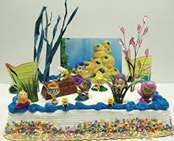 guppies cake toppers guppies 20 birthday cake topper set featuring gil
