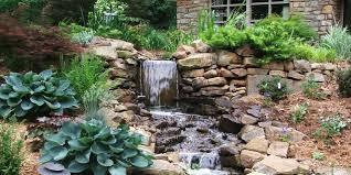 contemporary ideas garden waterfall inspiring 75 relaxing garden
