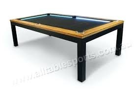 Dining Room Pool Table Combo Pool And Dining Table 7 Or 8 Foot Slate Pool Table