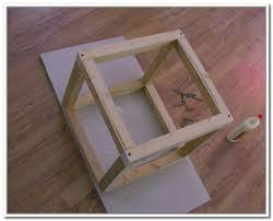 Diy Storage Ottoman Cube Diy Storage Cube Ottoman Home Design Ideas