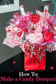 valentines gifts valentines day gifts how to create a candy bouquet arrangement