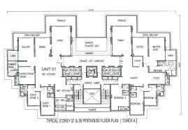 one tanjong floor plan