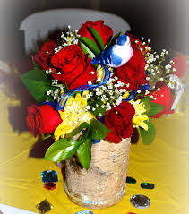 Bridal Shower Centerpiece Ideas by Snow White Themed Bridal Shower Centerpiece Custom Design With